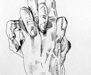 art, love, and hands image