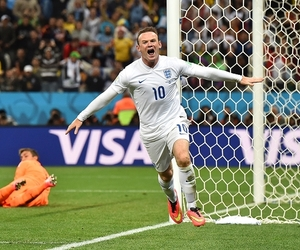 uruguay, wayne rooney, and world cup image