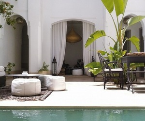 house, summer, and luxury image