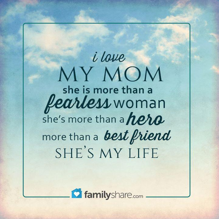 I love my mom! uploaded by Melloo on We Heart It