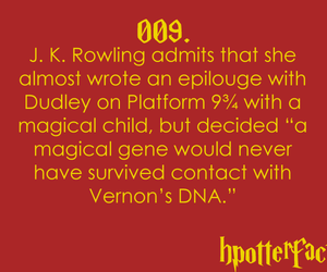 harry potter and fact image