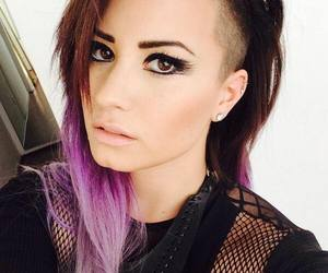 demi lovato, hair, and look image
