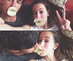 boyfriend, couple, and funny image