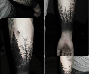 boy, nature, and tatoo image