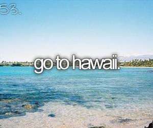 hawaii, beach, and before i die image