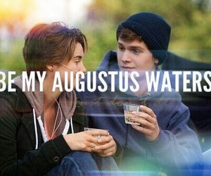 augustus, waters, and the fault in our stars image
