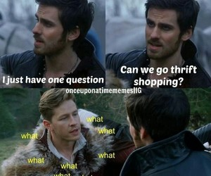 once upon a time, charming, and hook image