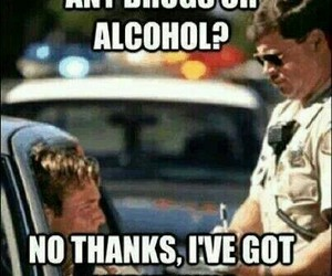 funny, police, and drugs image
