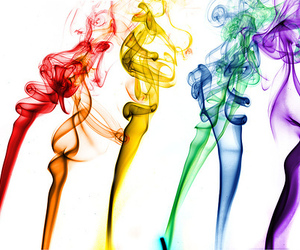 colours, photography, and smoke image