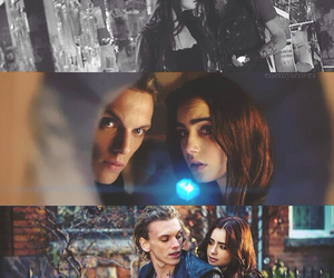 the mortal instruments, jace, and clary fray image