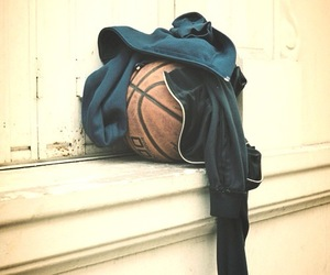 ball, dark blue, and sports image