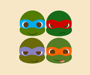 turtle, ninja, and ninja turtles image
