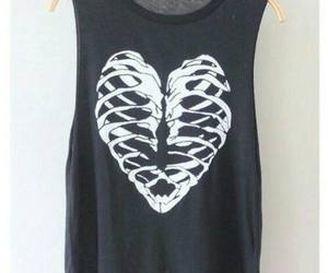 heart, t-shirt, and cute image