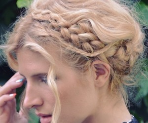 cool, diy, and hairstyles image