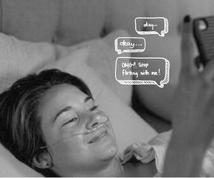 tumblr, the fault in our stars, and augustus waters image