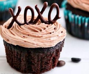 xoxo, cupcake, and chocolate image