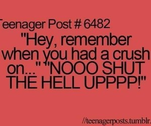 crush, funny, and teenager post image