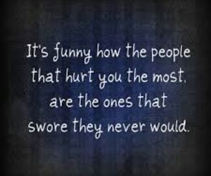 quote, hurt, and funny image