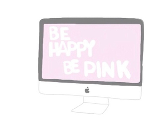 overlay, apple, and pink image