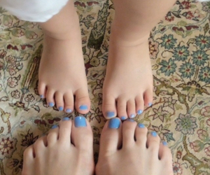 blue, child, and childen image