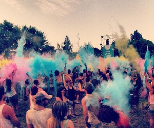 summer, colors, and party image