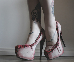 awesome, creepy, and fashion image