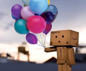 balloons and danbo image