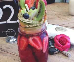 drink, fruit, and yummy image