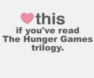 book, reading, and the hunger games image