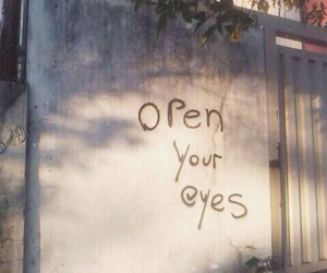 eyes, open, and quote image