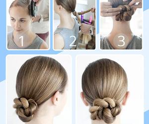 diy, hair, and hair tutorials image