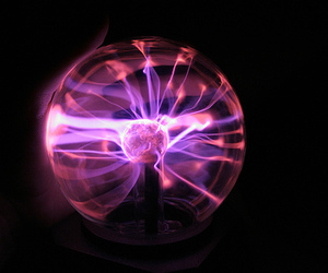 plasma, plasma ball, and plasma lamp image