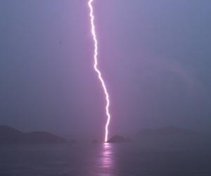 grunge, pale, and lightning image