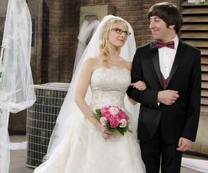 the big bang theory, wedding, and bernadette image
