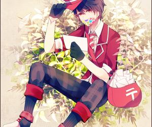 cool, anime boy, and smile image
