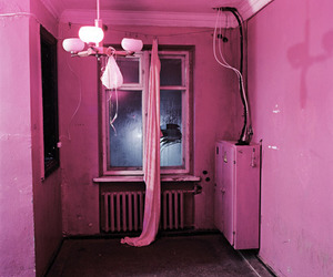 pink, room, and photography image