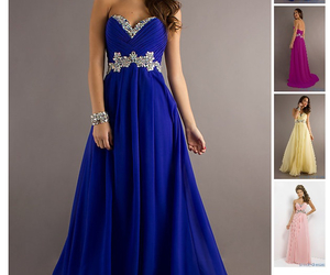 beautiful, dress, and dresses image