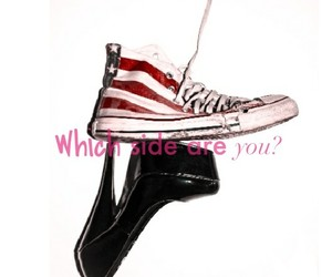 classy, high heels, and converse all star image