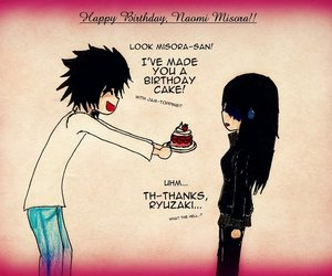 death note, happy birthday, and L image