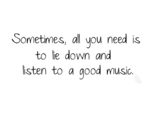 music, quote, and text image