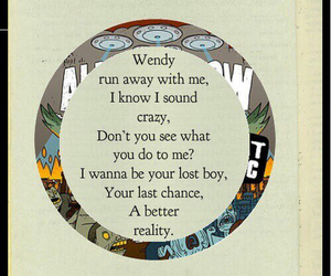 all time low, Lyrics, and somewhere in neverland image