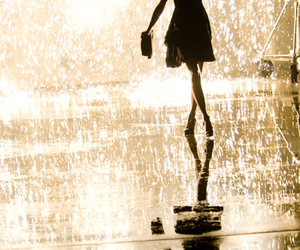 girl, rain, and Taylor Swift image