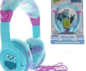 earphone, monster, and headset image