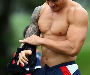 rugby, sonny bill williams, and samoan boy image
