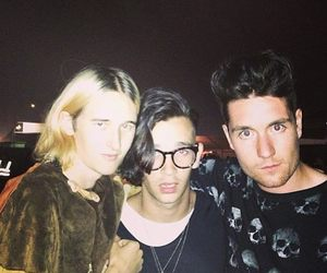 the 1975, bastille, and matty healy image