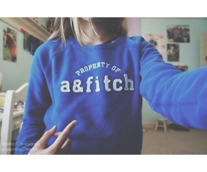 blue and abercrombie & fitch image