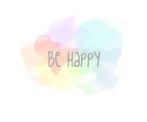 transparent, overlay, and be happy image
