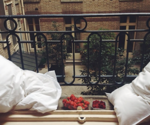 balcony and pillows image