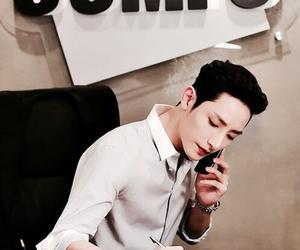 handsome, lee soo hyuk, and model image