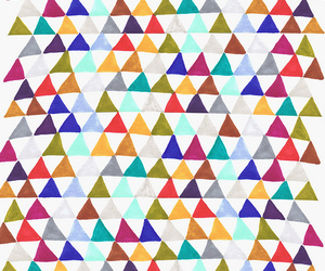 background, colour, and triangles image